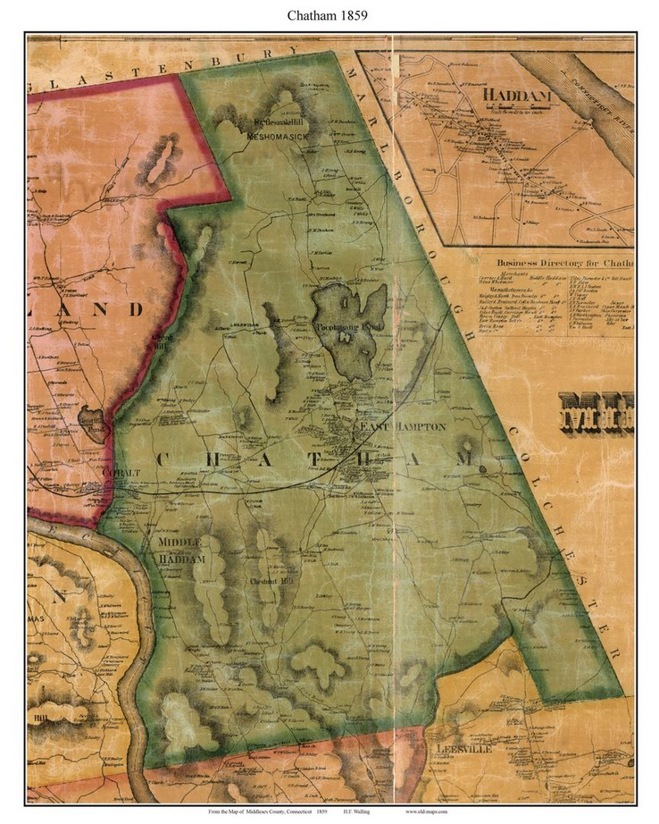 map of ct towns with Ct Middlesex 1859 Townprints on Regionalguides also Chester Center moreover Purchase Ny Map together with Fairfield moreover State.