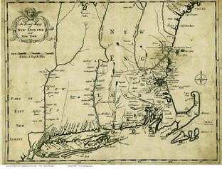 New England Old Maps