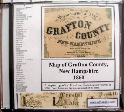Old Maps of Grafton Co NH, 1860