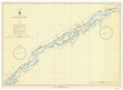Chart 12a - Croil Island to Leishman Point 1937