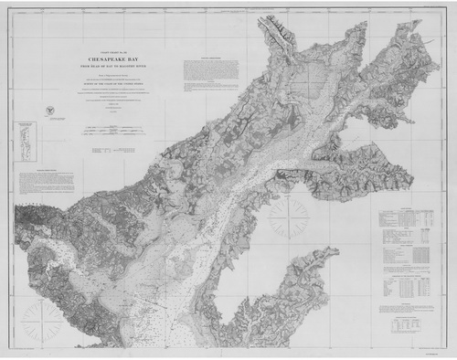 Maps of the Cheasapeake Bay
