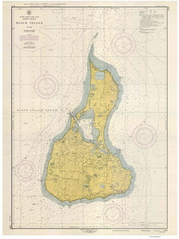 Nautical Map of Point Judith - 2013