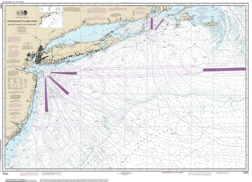 Nautical Charts of New York City