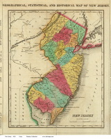 Old State Maps of New Jersey
